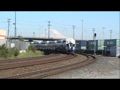 SOUNDER Commuter train F59PHI-901, Seattle