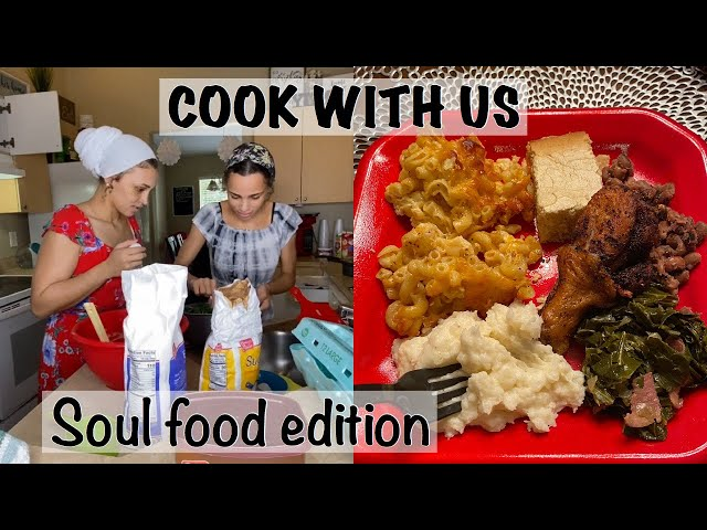 COOK SOUL FOOD WITH US