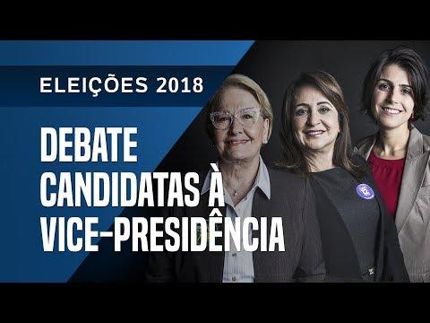 UOL, Folha e SBT promovem debate com candidatas à Vice-Presidência