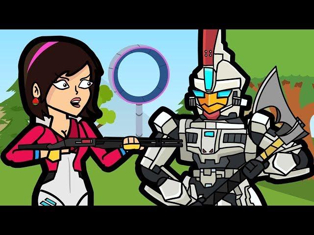 Sentinel & The Mega Mall | The Squad (Original Fortnite Animation)