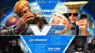 SFV: AAG | DidimoKOF vs GAM | Caba - LATAM Finals 2017 Grand Finals - CPT 2017