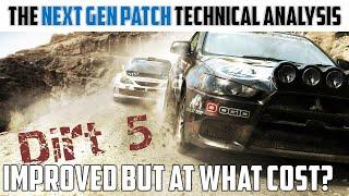Dirt 5 | Tнe Next Gen 2.0 Patch Technical Analysis - PS5 | SX | SS