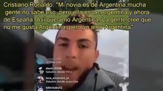 Cristiano Ronaldo y su inesperado mensaje de amor para Argentina