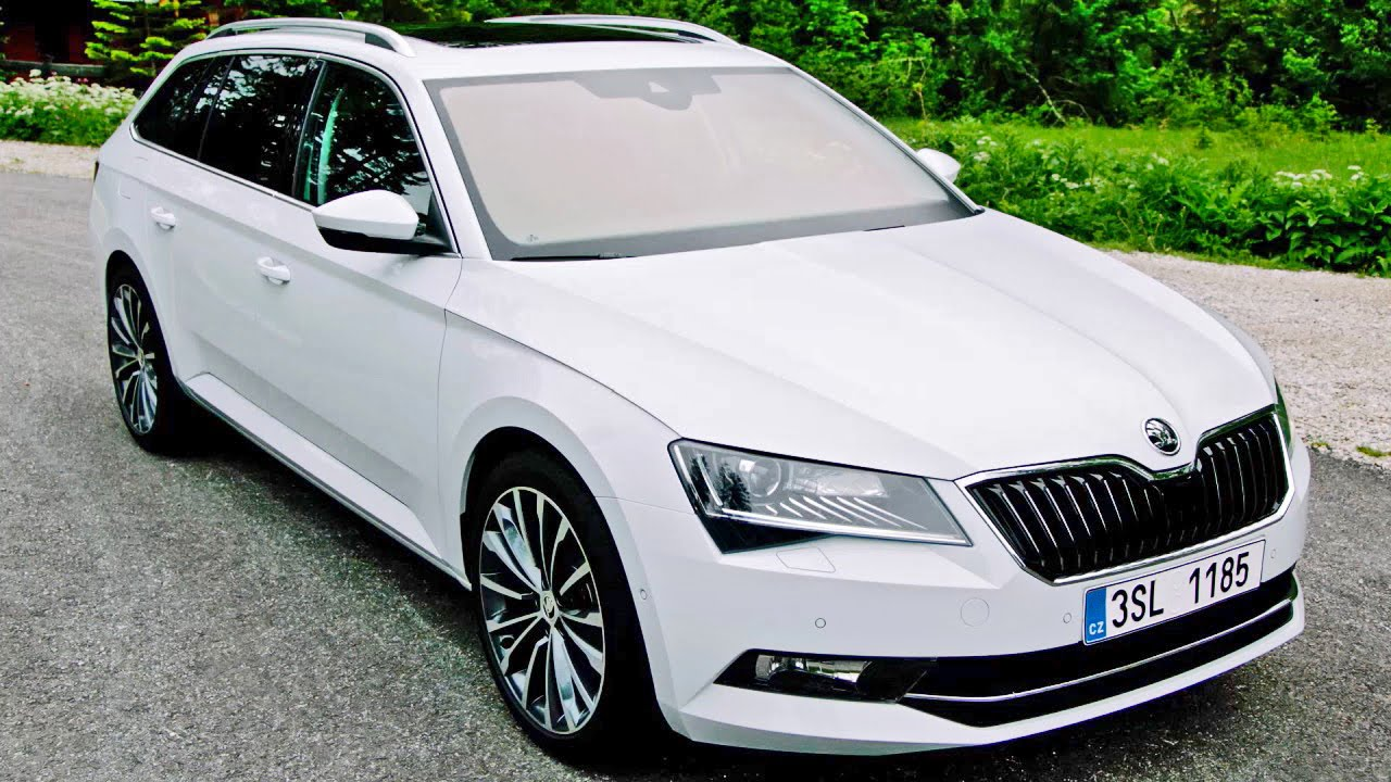skoda superb combi 2015 features design driving youtube. Black Bedroom Furniture Sets. Home Design Ideas