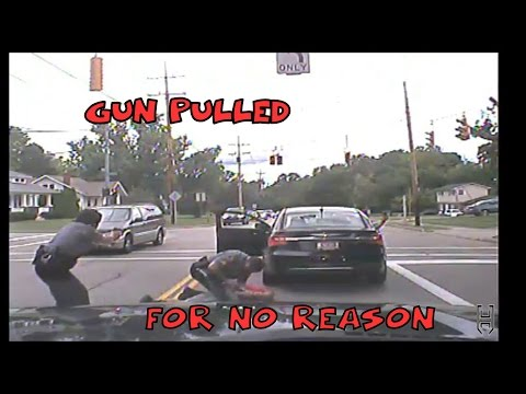 Police stop with Unnecassary Force/Gun Drawn