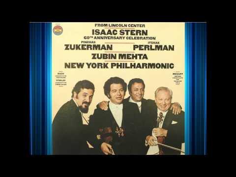 Mozart - Sinfonia Concertante For Violin and Viola - Stern, Zukerman - Mehta