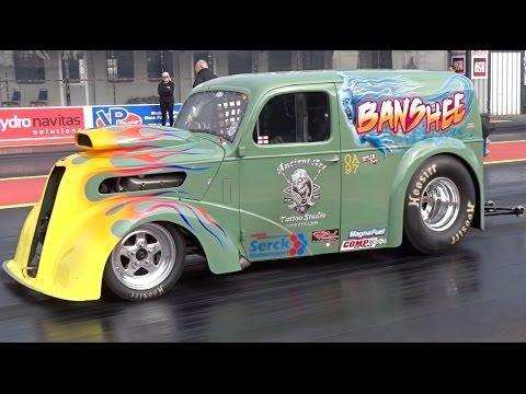 Big Bang 2017 - Outlaw Anglia Drag Racing Compilation Video