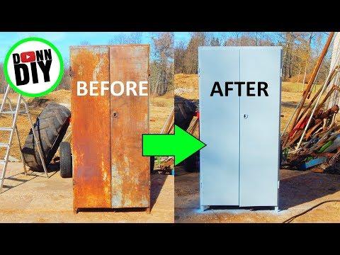 Restoring Industrial Furniture - Machine Shop Build Ep. 10