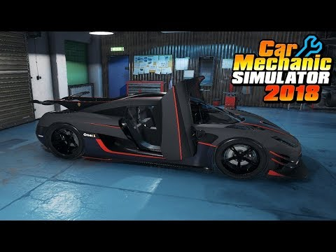 ABANDON KOENIGSEGG ONE:1 RARE!! - Car Mechanic Simulator 2018