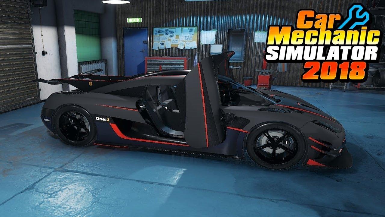 ABANDON KOENIGSEGG ONE:1 RARE!! - Car Mechanic Simulator 2018