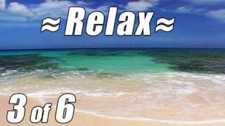 RELAX Waves Crashing on CARIBBEAN BEACH #3 Relaxing Ocean Nature Sounds for Studying No Music Noises