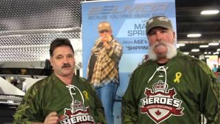 Marc Springer & Dave MacKENZIE HEROES HOCKEY CHALLENGE
