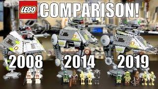 Лего Зоряні війни АТ-АР порівняння! (7671, 75043, 75234 | 2008, 2014, 2019)
