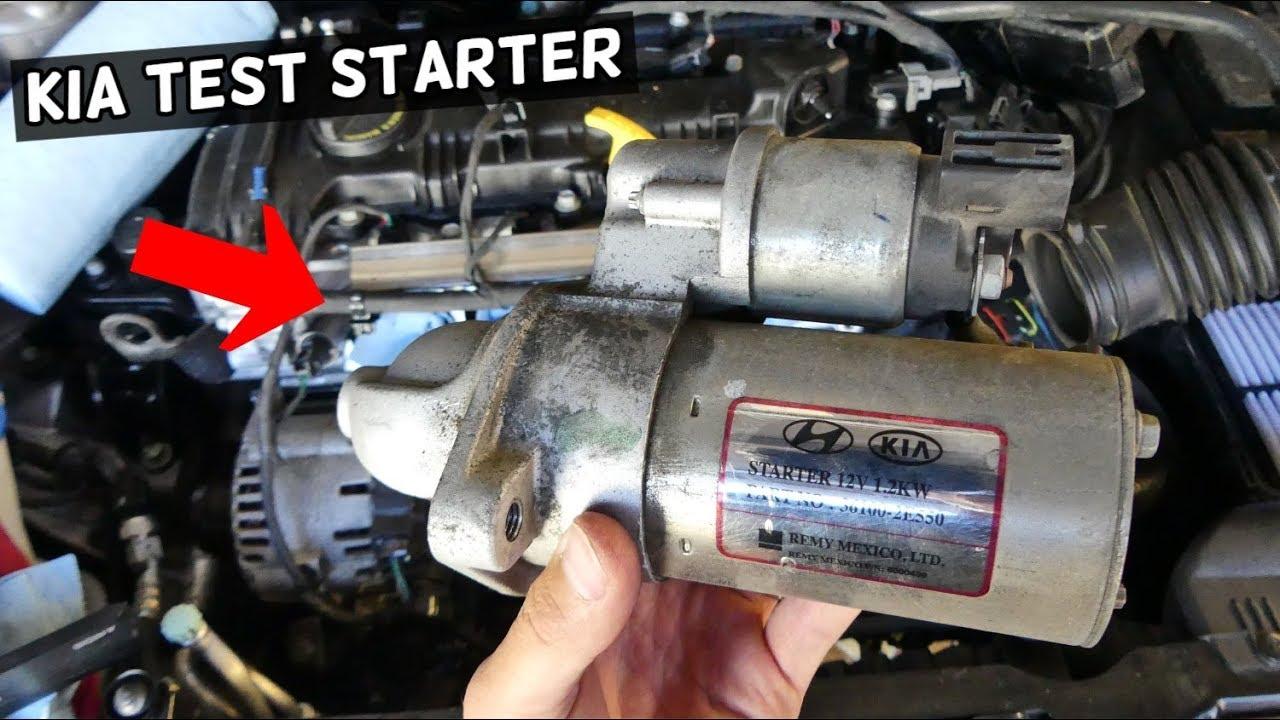 how to test starter on kia demonstrated on kia forte 2012 kia optima red 2012 kia optima sx engine diagram #10
