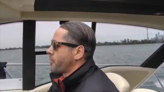 2016 Azimut 55 S Yacht Sea Trial with Andy Adams of Canadian Yachting