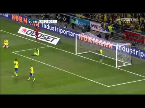 Portugal Vs Sweden 3 2 Crstiano Ronaldo INCREDIBLE HAT TRICK Vs Sweden 19 11 2013