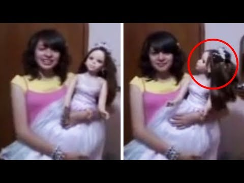 14 Scary Toys Caught Moving by Themselves