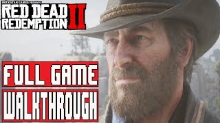 RED DEAD REDEMPTION 2 Gameplay Walkthrough Part 1 - (Xbox One X) No Commentary