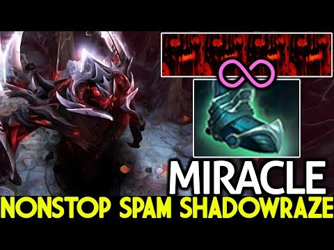 Miracle- [Shadow Fiend] Nonstop Spam Shadowraze Insane Farming 7.21 Dota 2 thumbnail