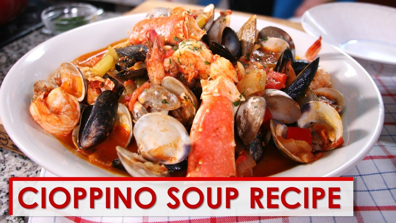 Cioppino Recipe Youtube