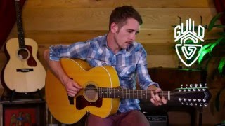 Guild Westerly Collection F-2512E Maple Acoustic Guitar Demo
