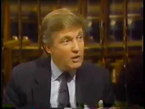 Lost Donald Trump Interview from Over 25 Years Ago Unearthed!