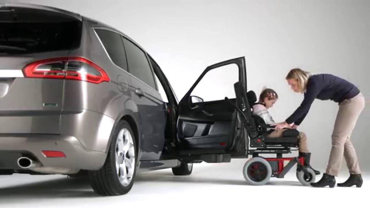 Child Transfer From Wheelchair To Car Youtube