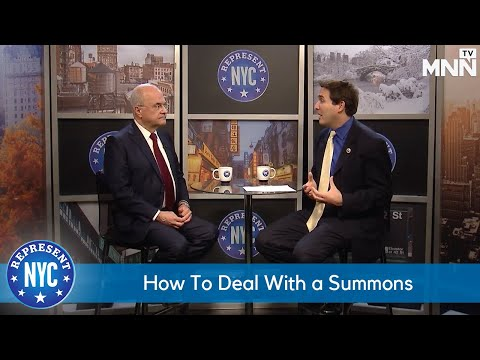 Represent NYC: How To Deal With a Summons