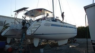 Sailboat Refit - Episode 1 - The beginnings of a year long refit