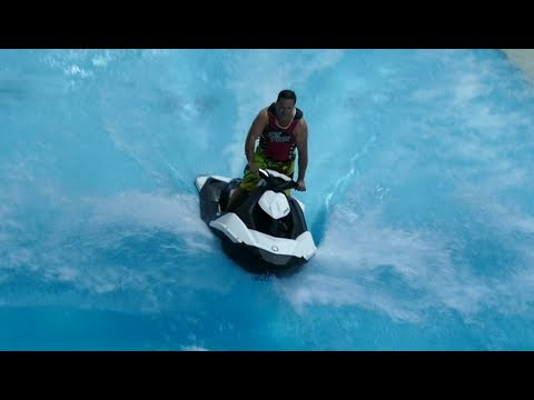 Jet ski in a swimming pool Kalev SPA