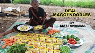 Maggi Noodles By World Best Granny Mastanamma