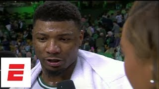 Marcus Smart on coming back for Celtics