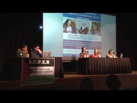 Independent Journalists speak on  Syria, Yemen, Palestine.