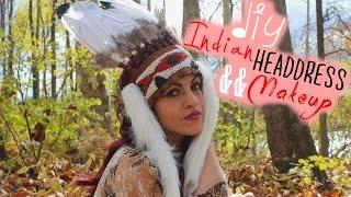 DIY Native American  Headdress