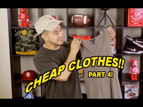 CHEAP ALTERNATIVES TO EXPENSIVE TRENDY CLOTHING PT. 4!!