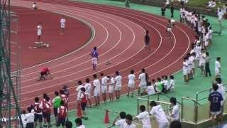川越高校 陸上競技大会 部対抗リレー 20130926