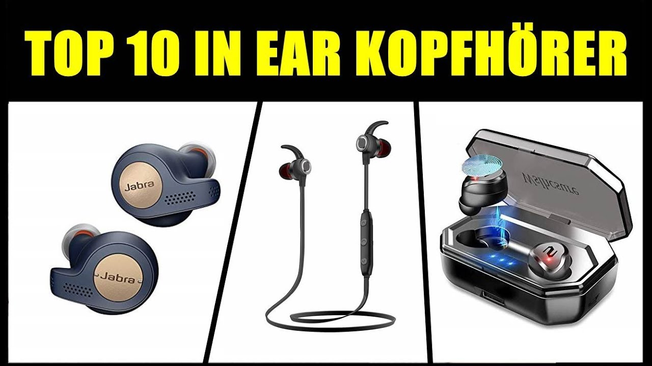 bluetooth kopfhörer in ear test 2019