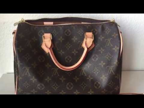 55033af603b9 LOUIS VUITTON Speedy 30 Bandouliere (Replica). Mrs goodies review