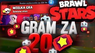 GRAM ZA 20 TICKETÓW  BRAWL STARS POLSKA  (odc.60)