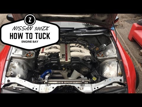 nissan 300zx relocating fuse box ptu and steering tank vlog 30 rh youtube com 300zx fuse box relocation 300zx fuse box cover
