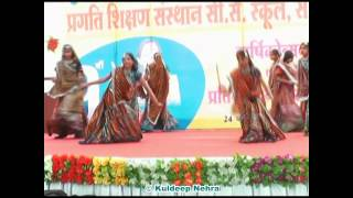Dandiya Dance in Annual Function by Pragati Shikshan Sansthan, Sikar.(Video 5/7)