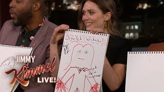 Cast of Avengers: Infinity War Draws Their Characters
