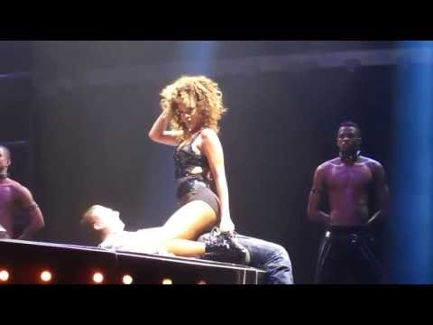 Rihanna Skin Lap Dance for Fan