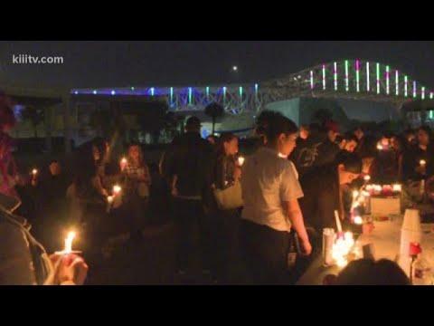 Family, friends gather for vigil for Gabbie Prado