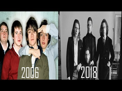 The Evolution of Arctic Monkeys | 2006-2018