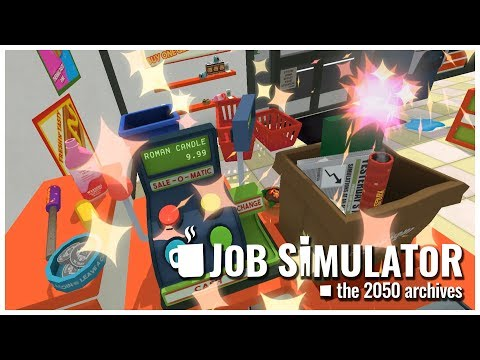 Job Simulator - #5 - Generic Retail Activity - Let's Play / Gameplay / VR