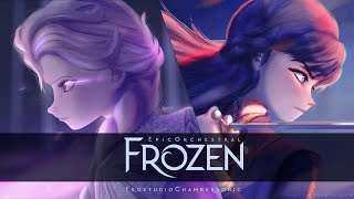 Download lagu FROZEN | Epic Majestic Orchestral Cover Collections