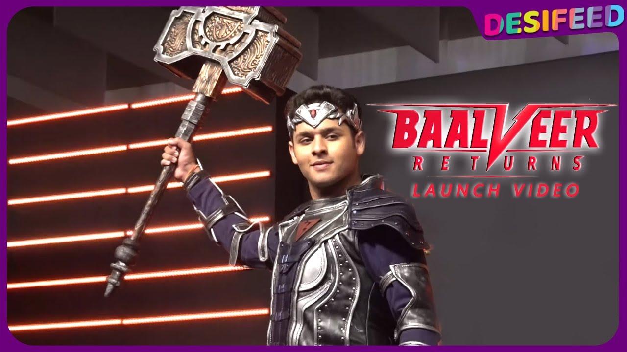 Baalveer Returns Sab TV | Full Launch Event With Entire Team Of Baalveer  Returns