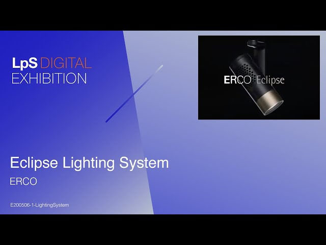 Eclipse Lighting System by ERCO