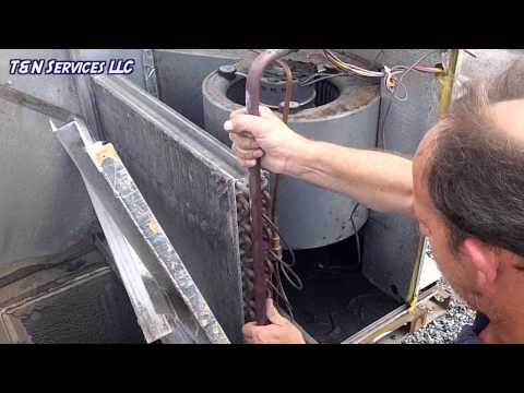 York Package Unit Drain Pan Replacement